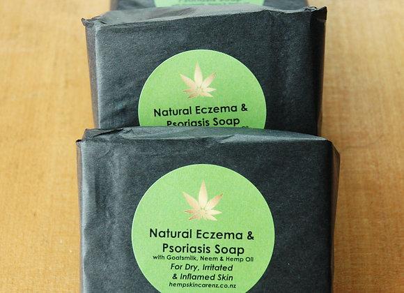 Natural Eczema & Psoriasis Soap