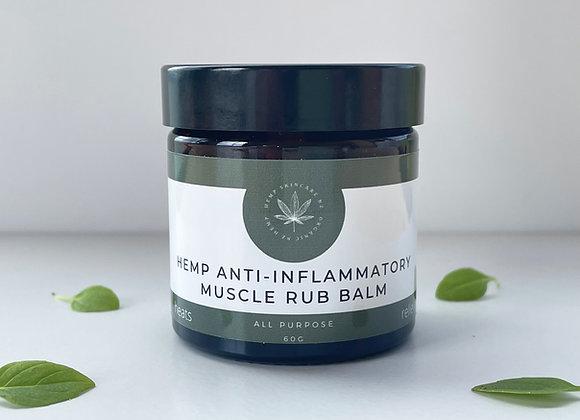 Hemp Anti-Inflammatory Muscle Rub 60gm