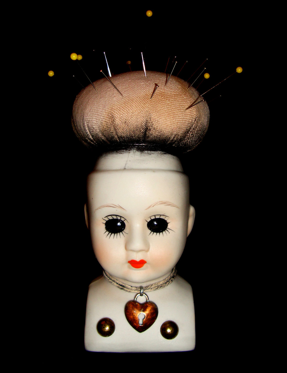 Doll pinhead Cushion 1
