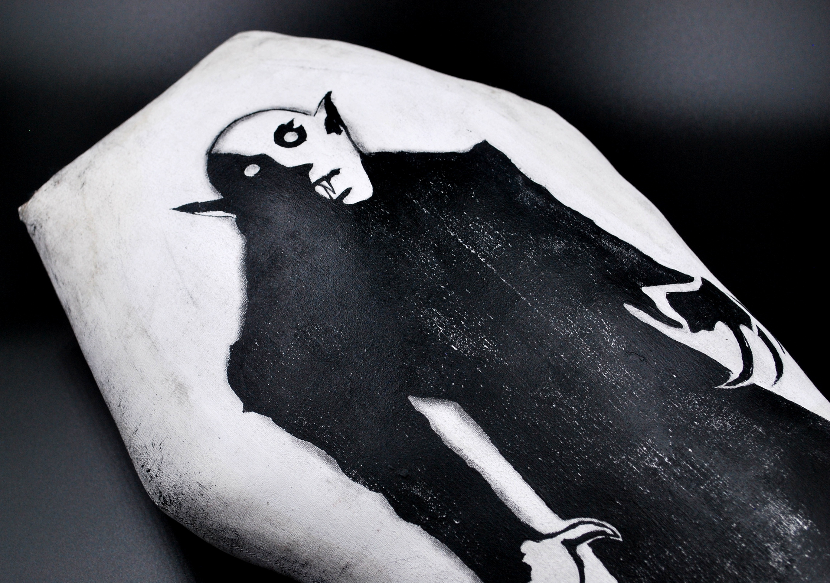 Nosferatu Coffin Pillow