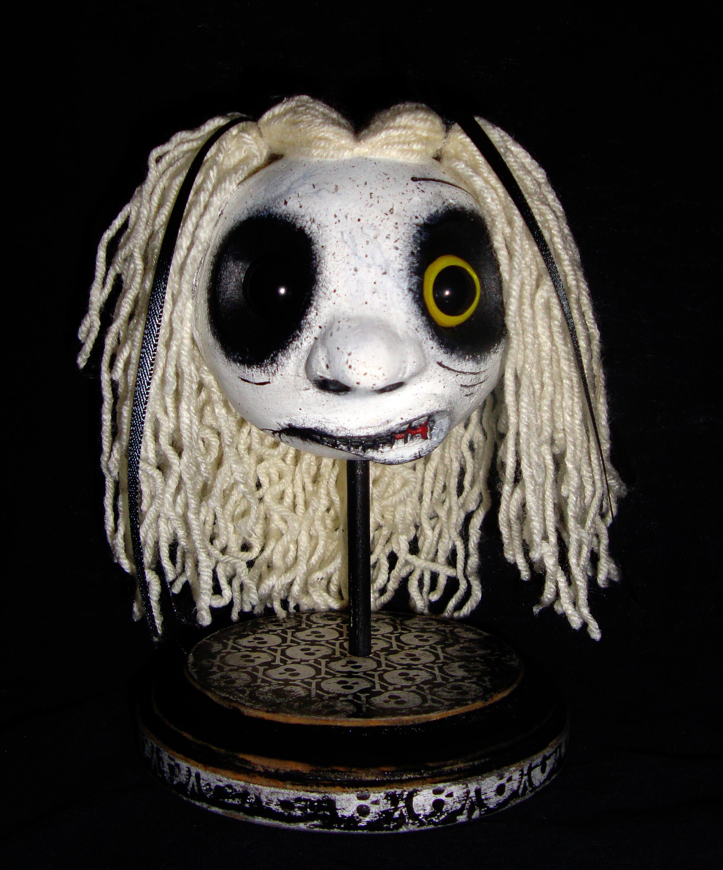Zombie Girl Head