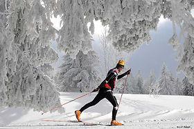 cross-country skiing verbier