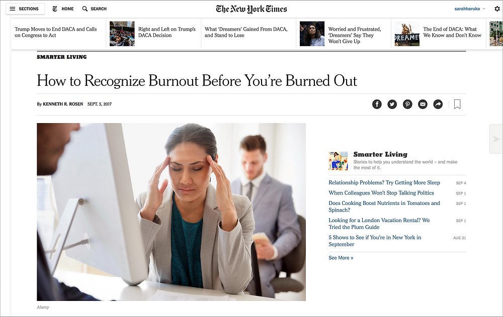 NY Times article screenshot