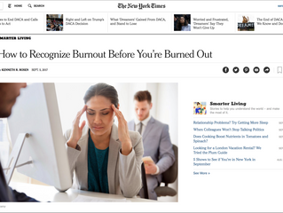 My photo is in a NY Times article!