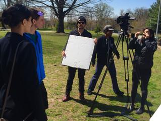 """Shooting: """"Escaping Without Leaving"""" short film project, Dir. Megan Raveneau"""