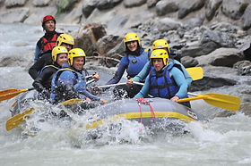 rafting torrent extrem