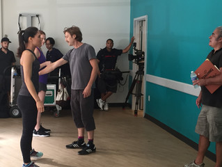 On set: YMCA Commercial