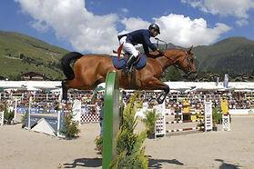 horse riding Verbier