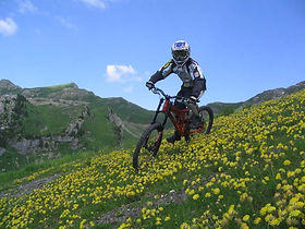 mountain biking verbier