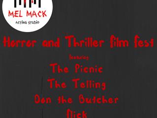 MMAS Horror + Thriller Film Fest, Official Selections