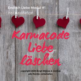 Karmacode Liebe heilen