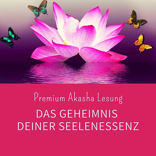 Premium Akasha Reading: Das Geheimnis deiner Seelenessenz