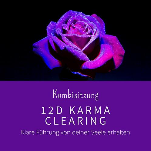 12D Karma Clearing Sitzung inkl. 12 Chakren Lichtsprache Grid