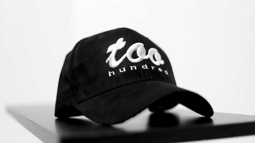 Too Hundred Dad Hat- Black