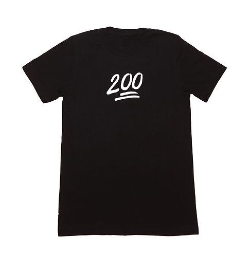 200 Monogram Reflective Tee