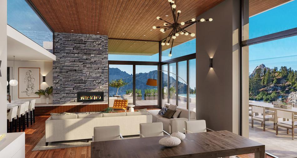 Stillwater Mountain Connection, Interior
