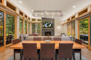 Indoor Outdoor Living Room and Patios