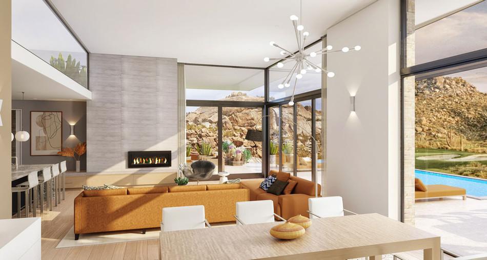 Stillwater Desert Connection, Interior