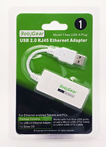 BobjGear USB-A to RJ45 Ethernet Adapter