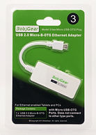 BobjGear Model 3  Micro USB-OTG to  RJ45 Ethernet Adapter