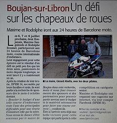 Article midi libre 21/02/2018