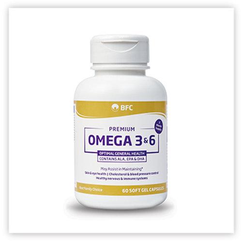 BFC Pharma OMEGA 3 & 6