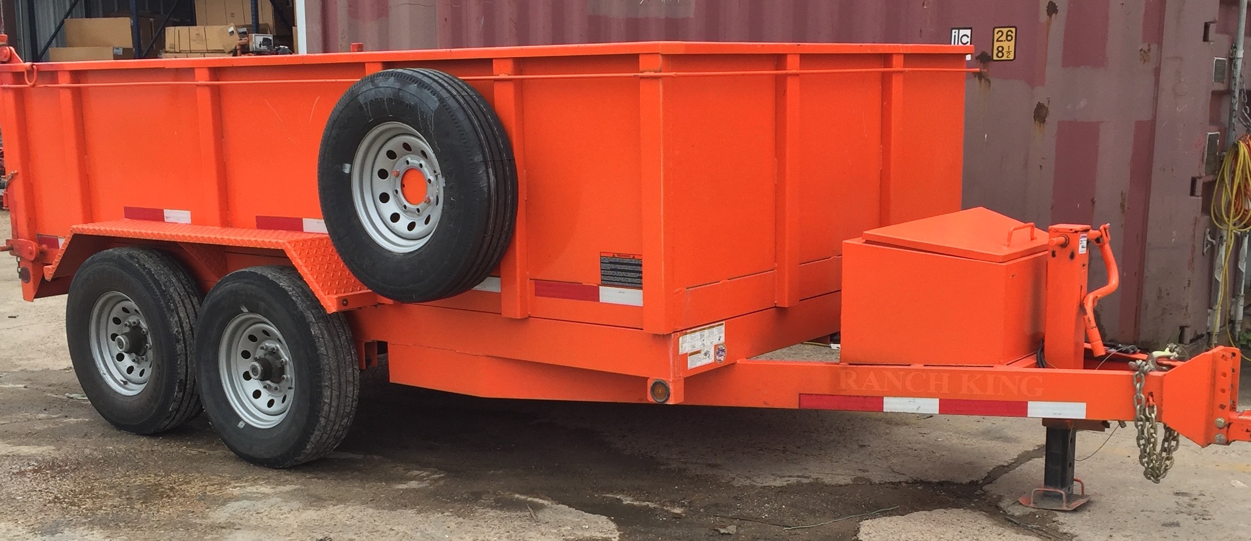 Rental Fleet Dump Trailer
