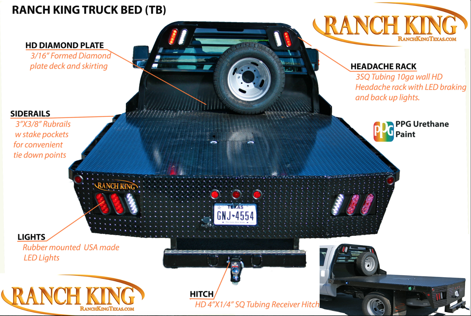 Ranch King Flat Bed