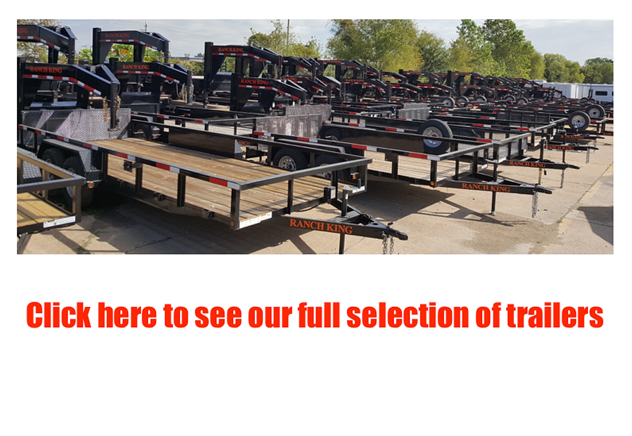 ranch king trailers from trailer wheel frame at work in your community