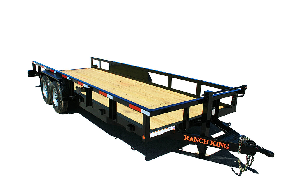 ranch king trailers from trailer wheel amp frame