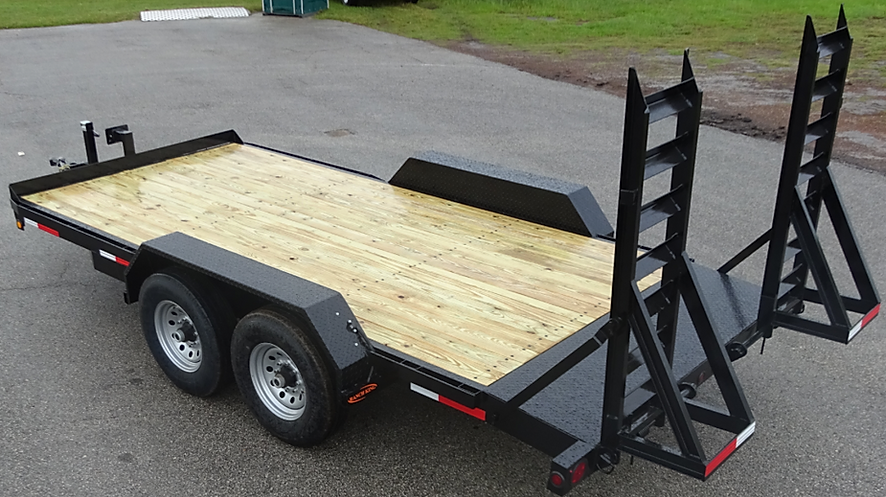 Trailer Wheel & Frame Equipment Trailers