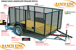 WT Series Single Axle Landscape