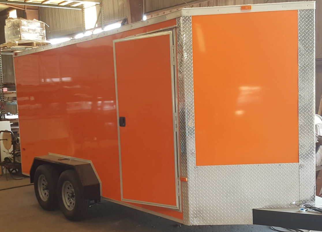 Rental Fleet Enclosed Trailer