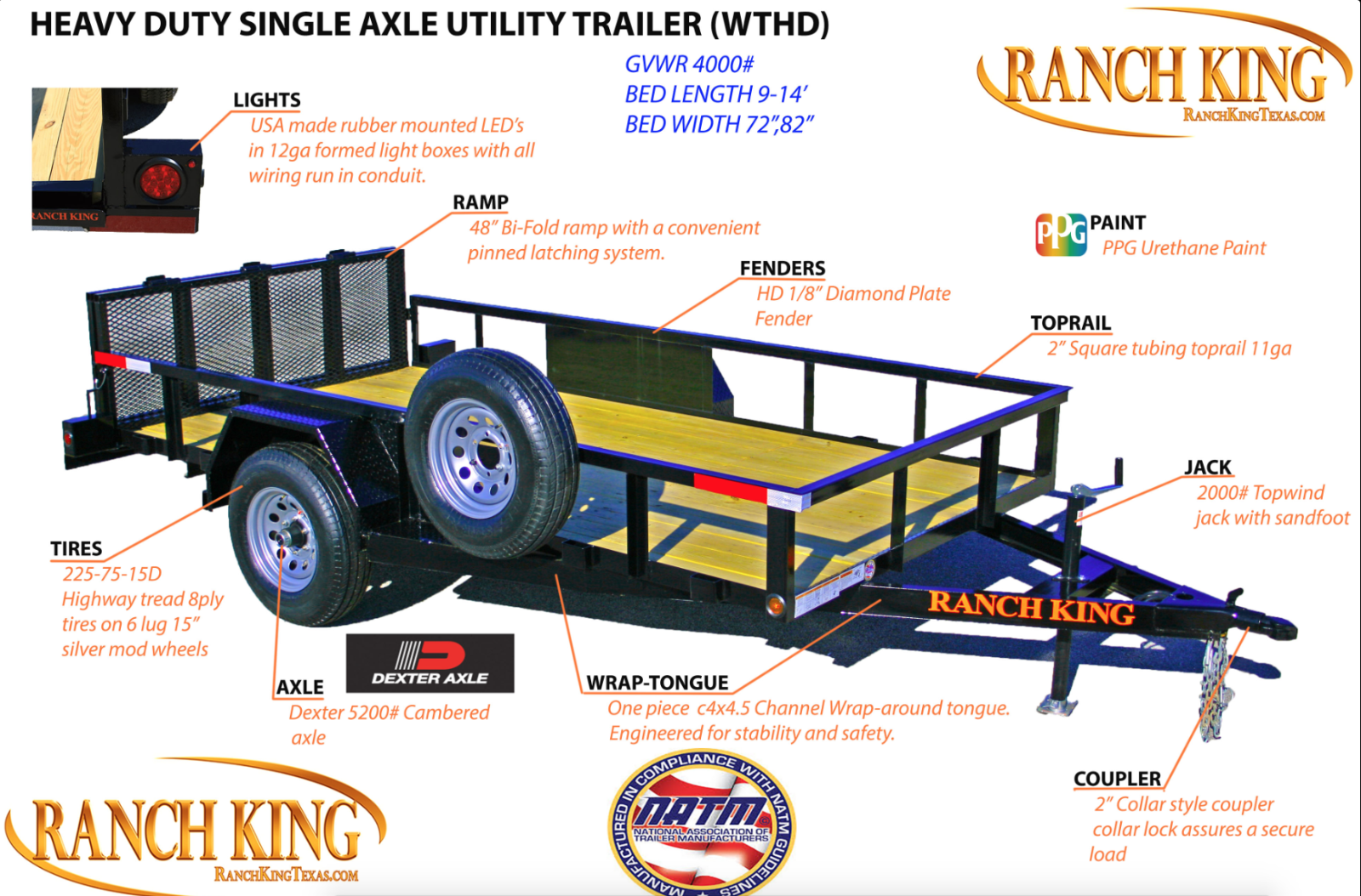 WT Series Single Axle Heavy Duty