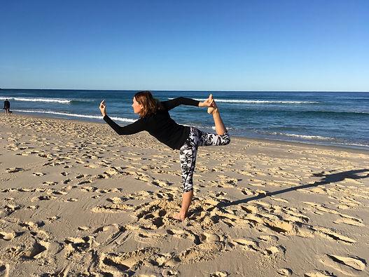 Natarajasana, Dancer pose, yoga