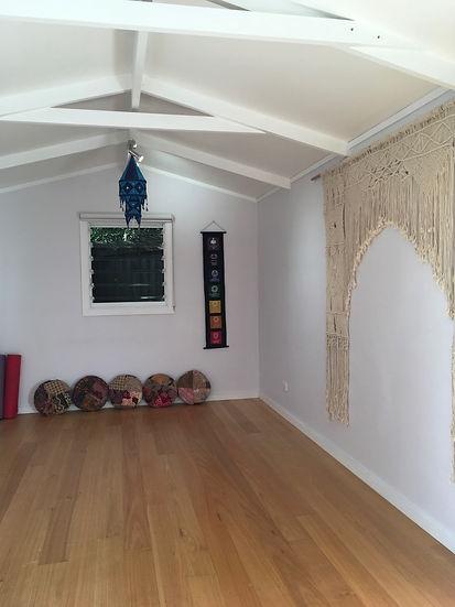 peaceful yoga and massage studio Mona Vale