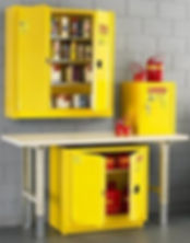 Fire Cabinet, Flammable Storage