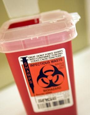 Sharps Container, Bloodborne Pathogen