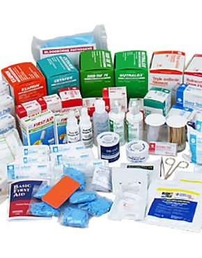 First Aid, Safety Supplies