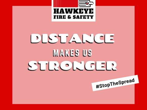Hawkeye Fire & Safety is Temporarily Closed - Coronavirus Response