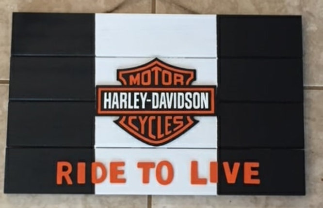 Harley Davidson sign | homepage