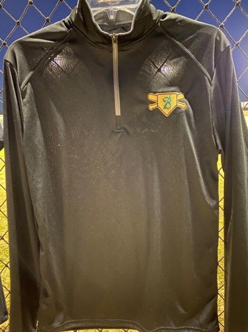 Black 3/4 Zip Pullover