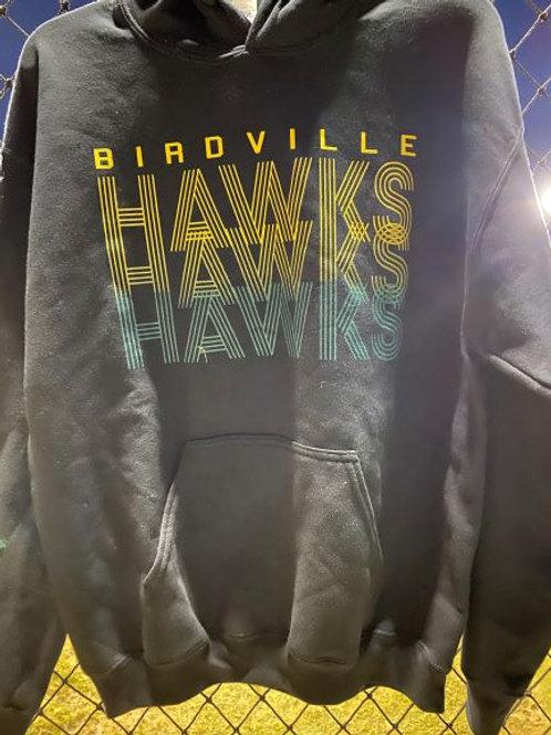 Hawks Black Hoodie