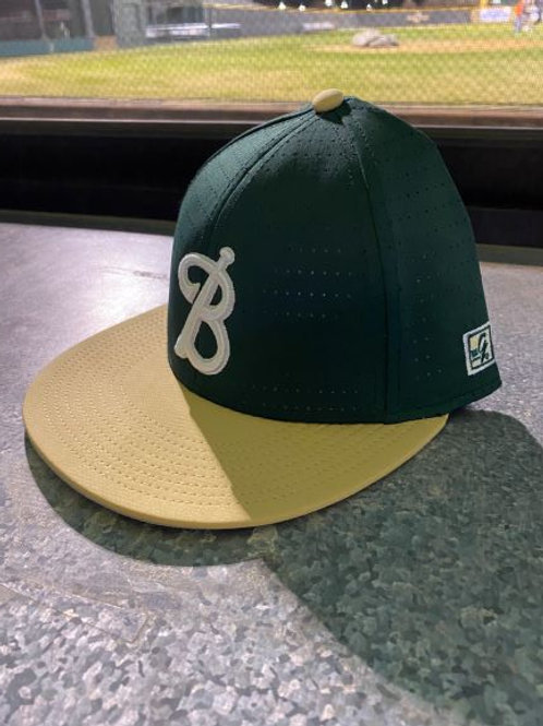 Gold/Green Hat