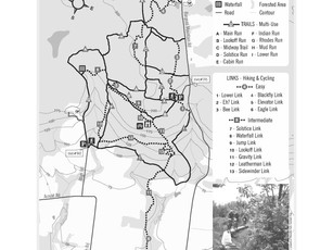 Layout for Folding Trail Map side 2