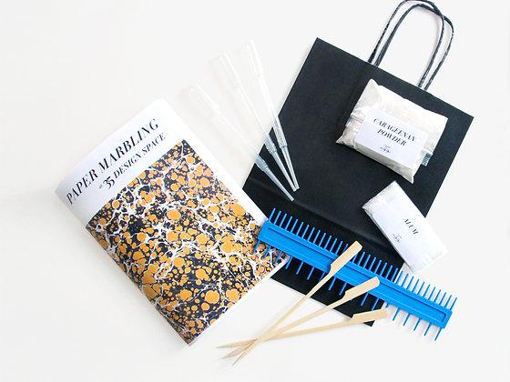 35 Paper Marbling Kit