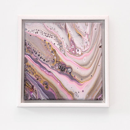 Pre Collection S08 20x20cm White Framed