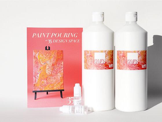 35 Paint Pouring Medium Multi-buy
