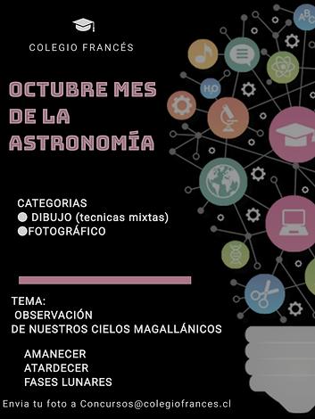 Mes de la Astronomia