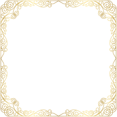 Frame_Deco_Gold_Transparent_PNG_Clip_Art